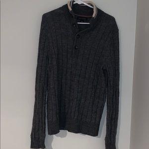 Banana Republic Grey Sweater Medium